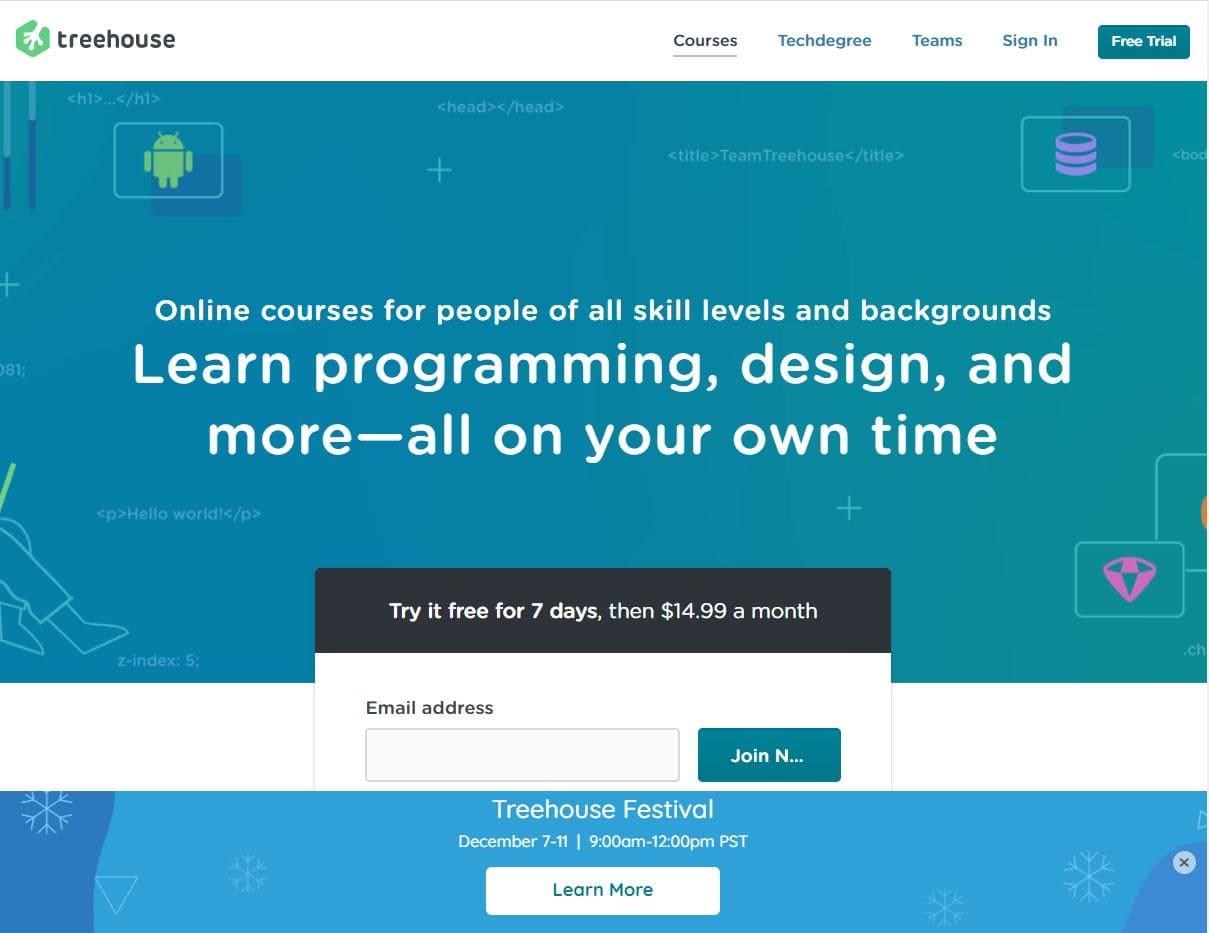 افضل مواقع لتعلم البرمجة