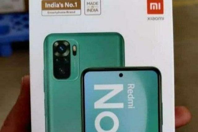 تسريب لعلبة هاتف ريدمي نوت 10 – Redmi Note 10 تكشف تصميم و المعلومات حول الهاتف