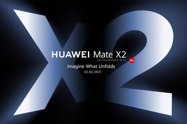 هاتف هواوي ميت Huawei Mate X2 يتجاوز 2.3 مليون حجز